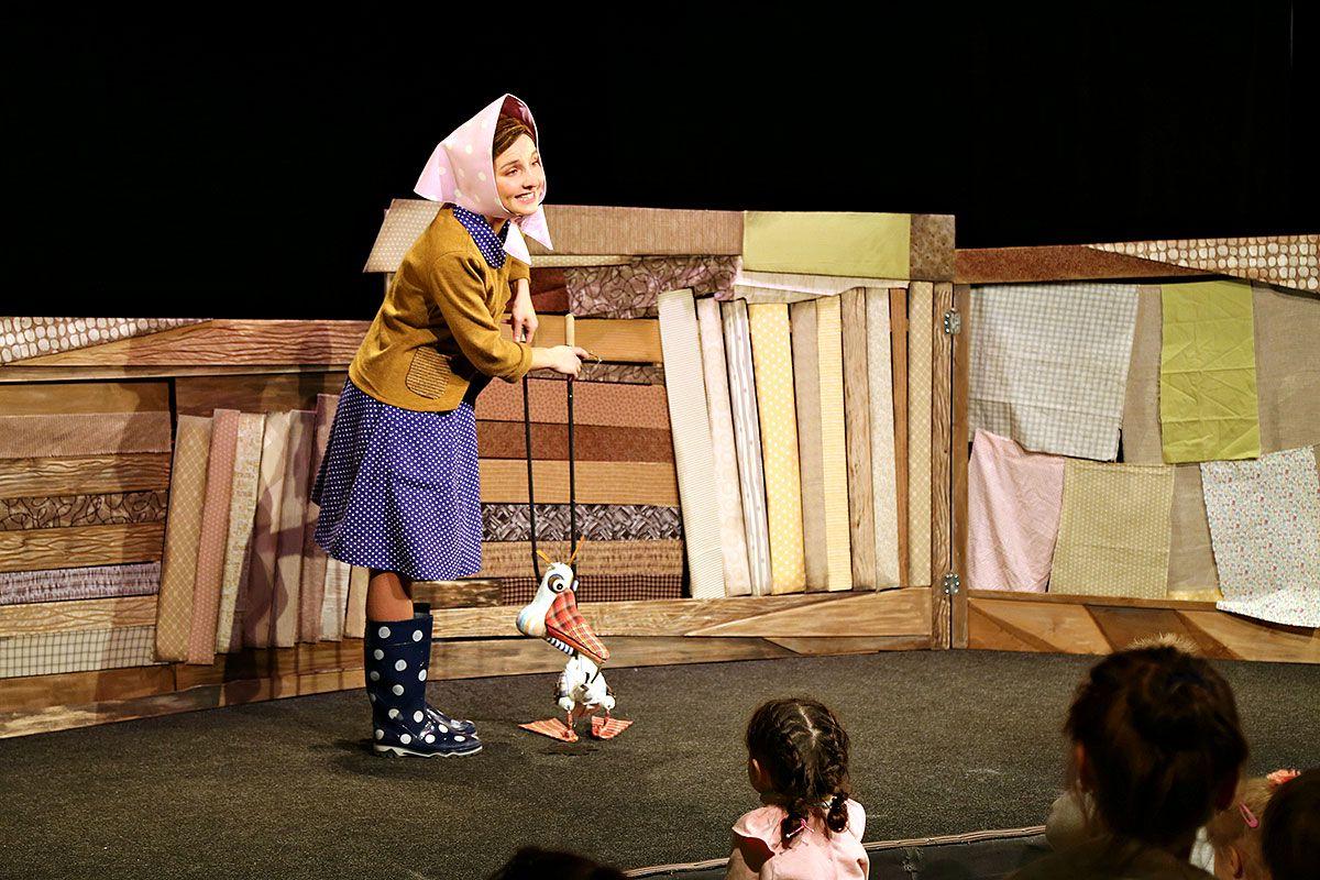 Спектакль «Гусёнок» в Московском театре кукол на Спартаковской фото 1