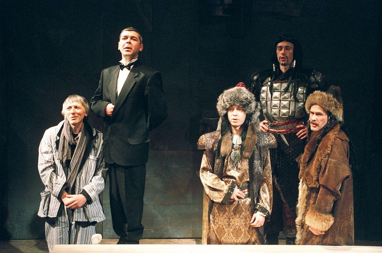 Спектакль «Предпоследний концерт Алисы в стране чудес» в Театре «Около дома Станиславского» фото 3