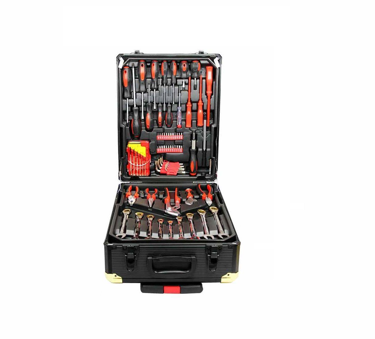 Набор инструментов Kraft Hoff из 186 предметов в разборном алюминиевом кейсе со скидкой до 71% фото 1
