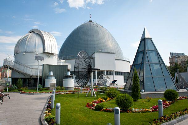 Экспозиция «Парк неба» в Московском Планетарии фото 2