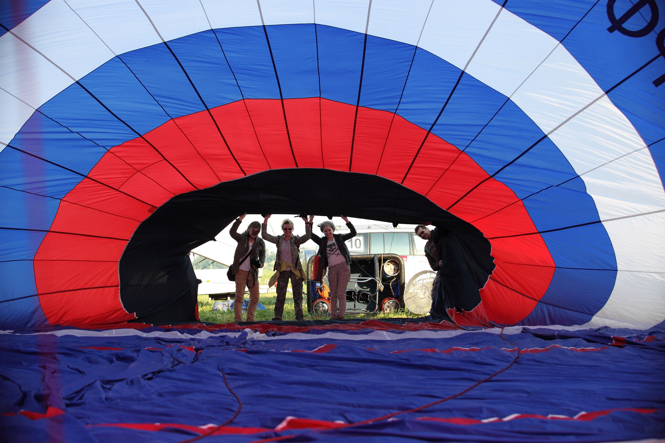Мастер-класс «Я пилот воздушного шара» фото 1