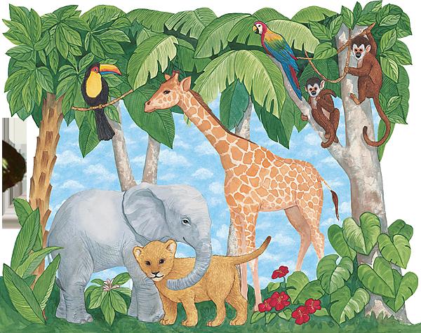 Рисунок днем, африка в картинках для 2 класса