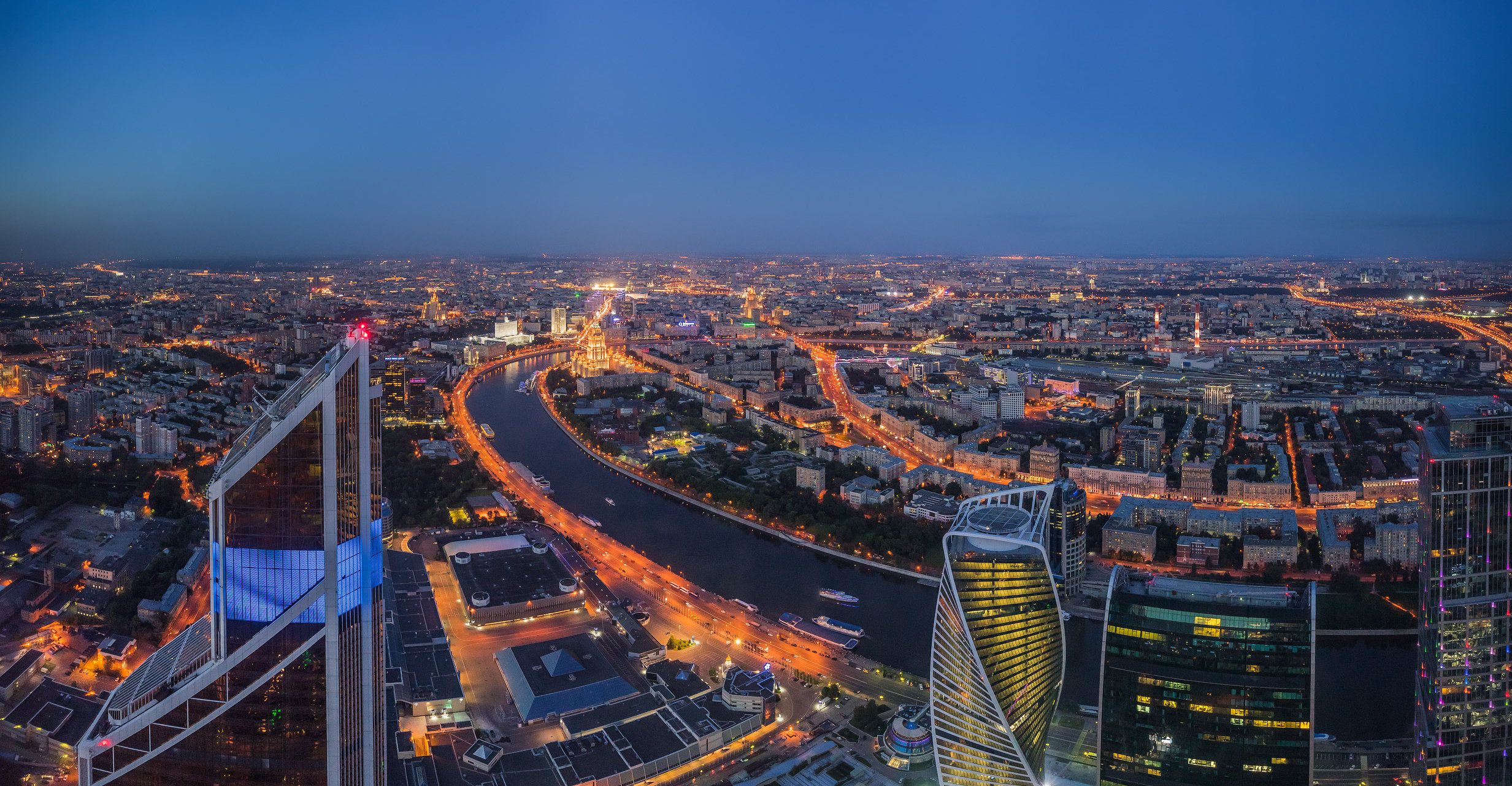 Просмотр салюта на 9 Мая с 90-го этажа «Москва-Сити» фото 8