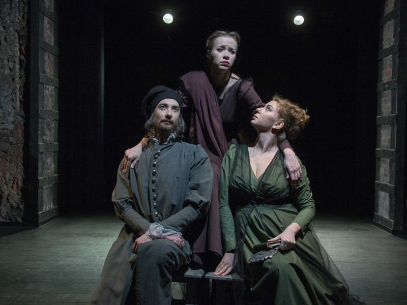 Спектакль «Комедия о вдове» в Театре имени Евг. Вахтангова фото 2