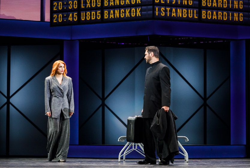 Мюзикл «Шахматы» в Театре МДМ фото 4