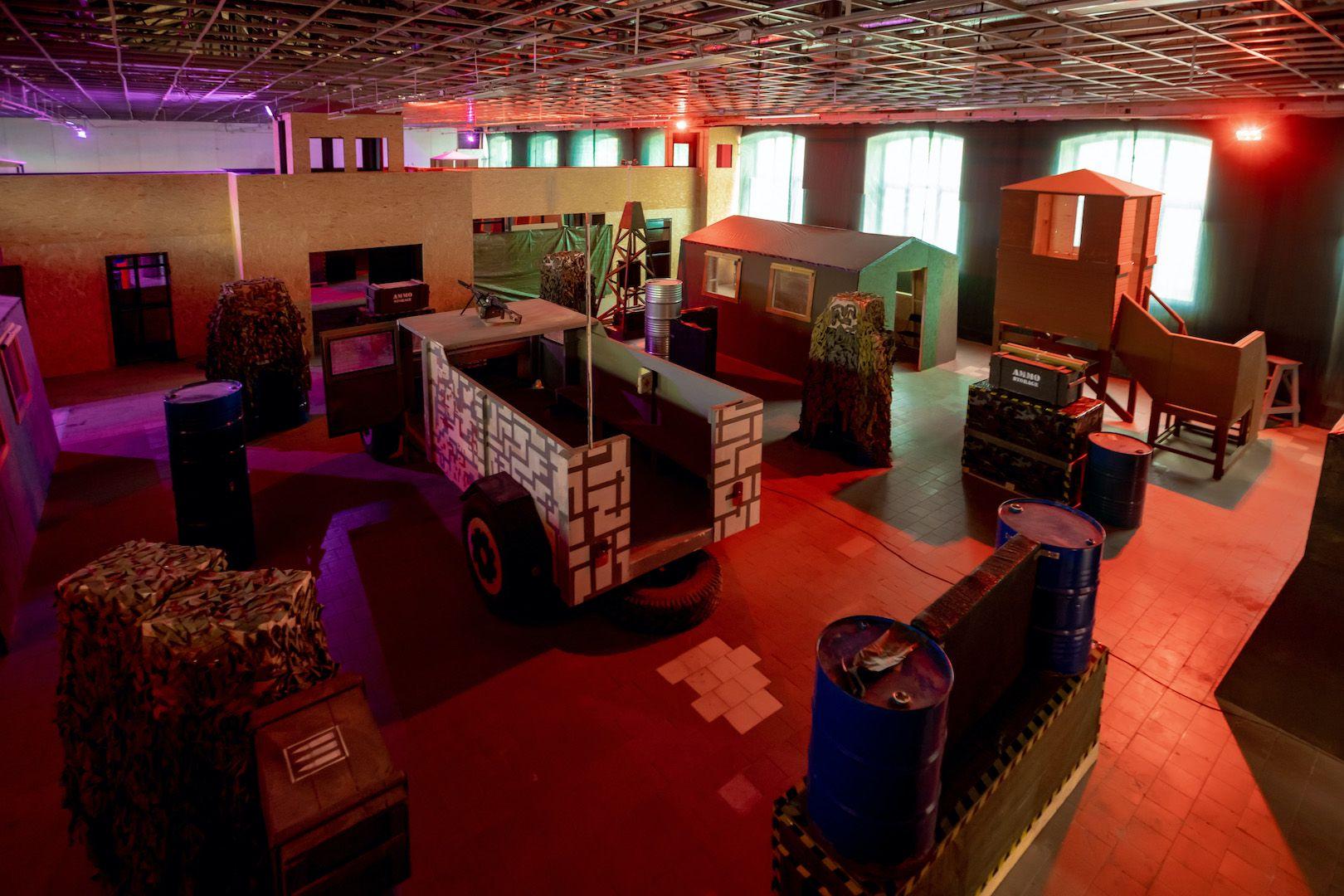 Открытые игры по лазертагу в клубе «Лабиринт» фото 4