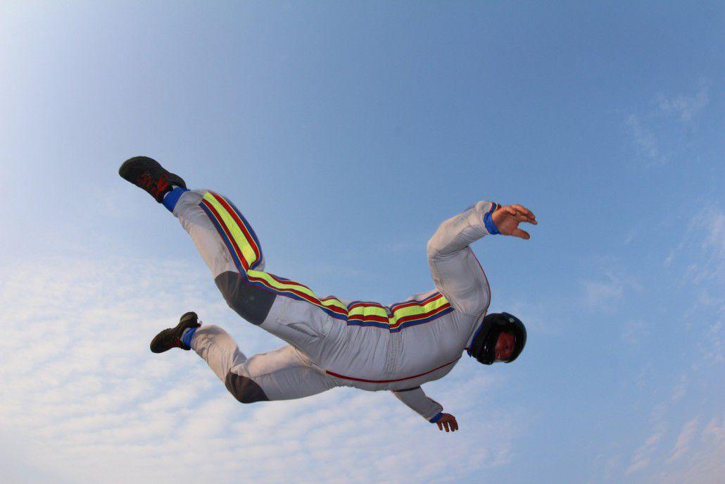 Полёт в аэродинамической трубе в комплексе I can fly (ТЦ «Авиапарк») со скидкой до 50% фото 1