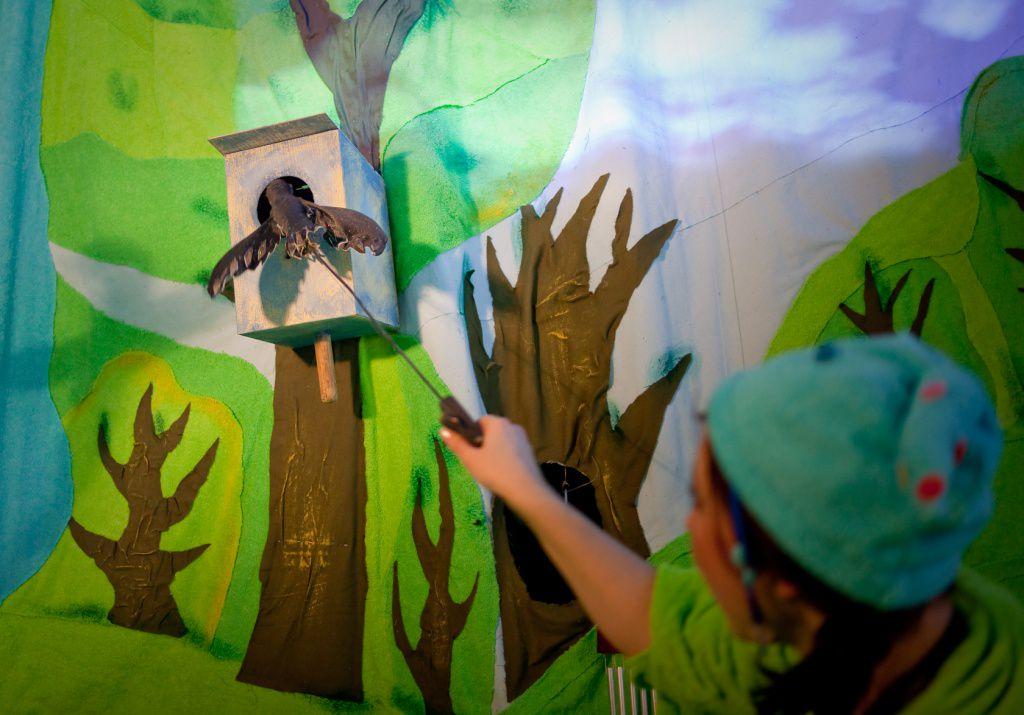 Спектакль «Театр на ладошке. Весна» в Московском театре кукол на Спартаковской фото 5
