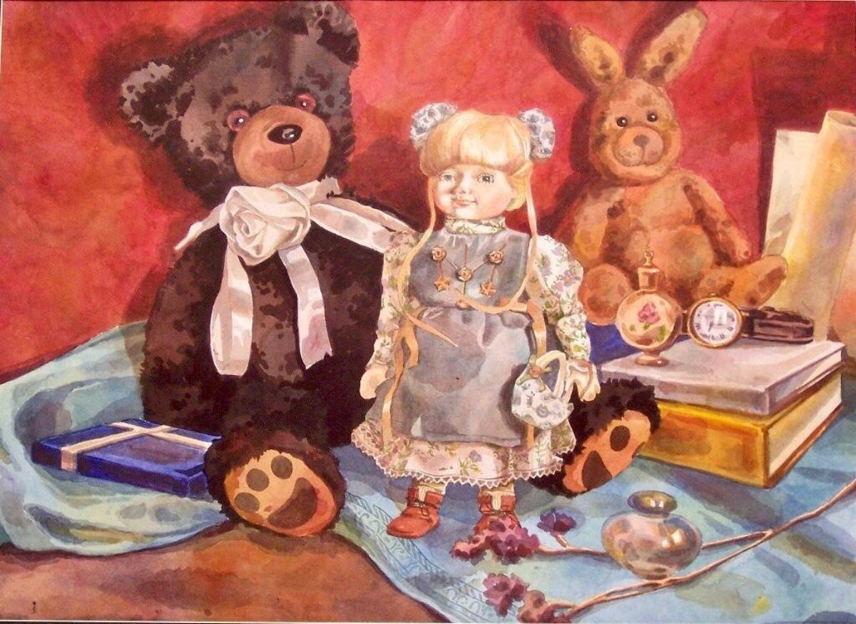 Выставка репродукций учеников Школы акварели Сергея Андрияки фото 2