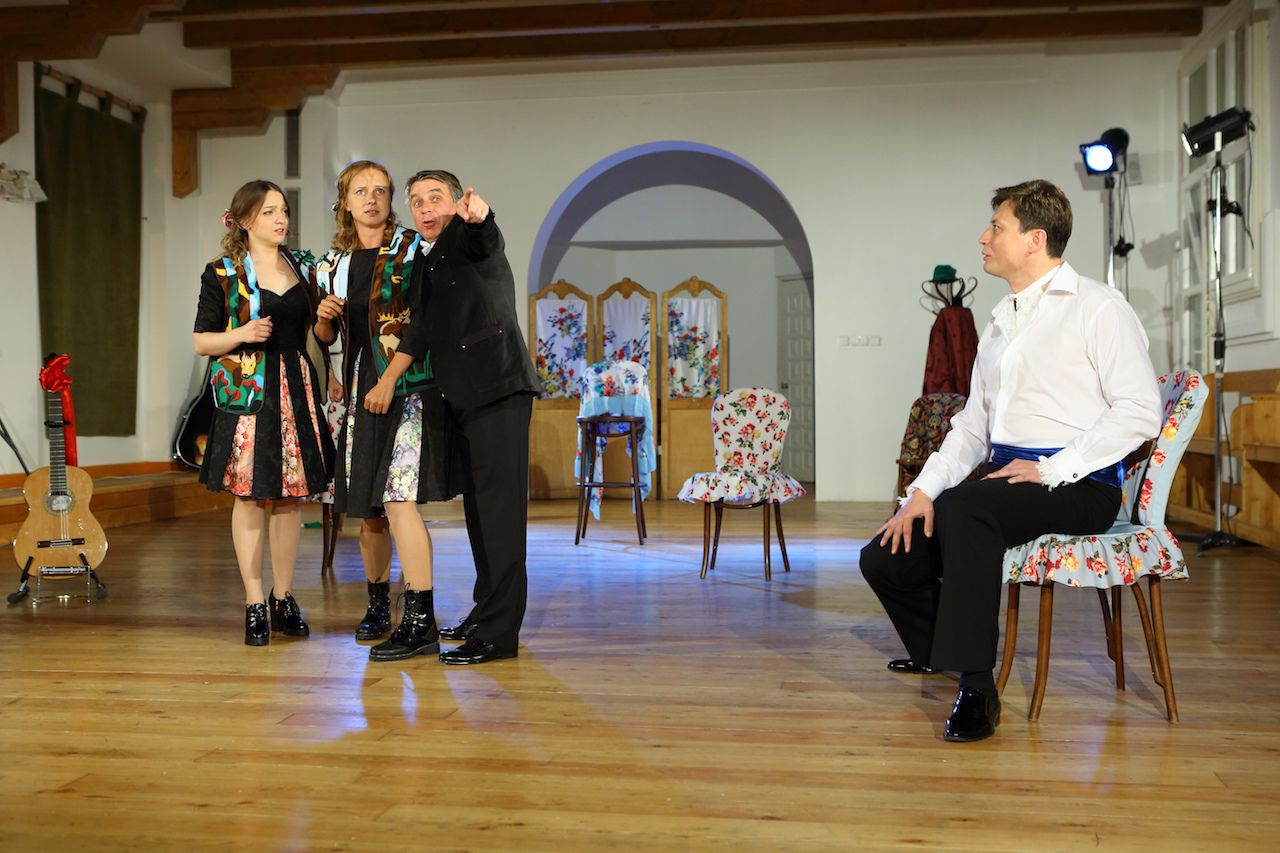 Спектакль «Граф Нулин» в Театре «Школа драматического искусства» фото 3