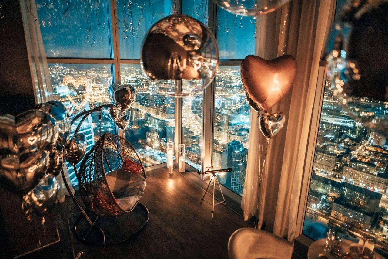 Романтическое свидание на 67-м этаже «Москва-Сити» от проекта Romantic Room фото 2
