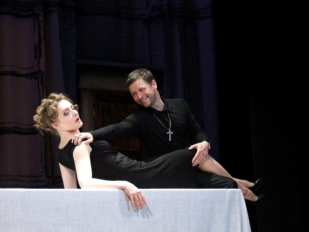 Спектакль «Тартюф» в Театре имени А. С. Пушкина фото 6