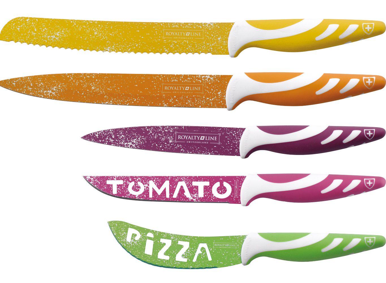 Наборы стальных ножей с керамическим или мраморным покрытием Royalty Line и Imperial Collection Switzerland со скидкой до 85% фото 1