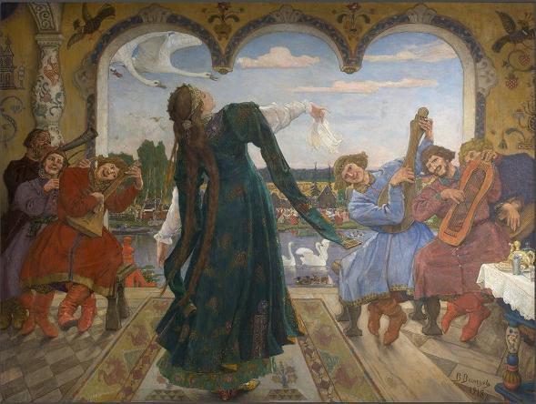 Выставка «Русская сказка. От Васнецова до сих пор»