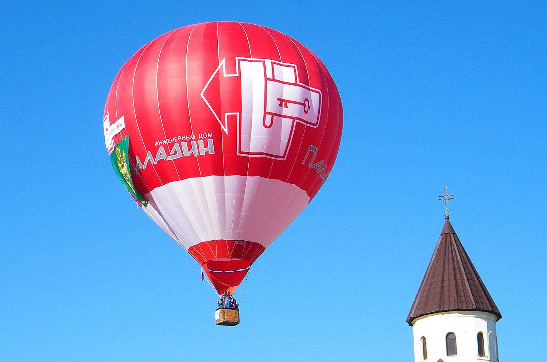Индивидуальный полёт на воздушном шаре фото 1