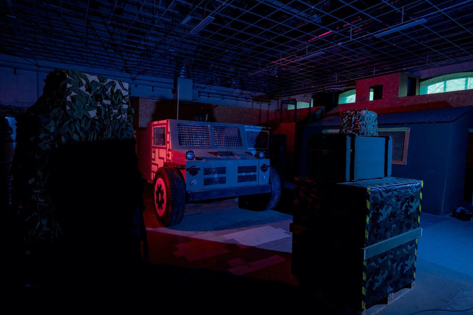 Открытые игры по лазертагу в клубе «Лабиринт» фото 7