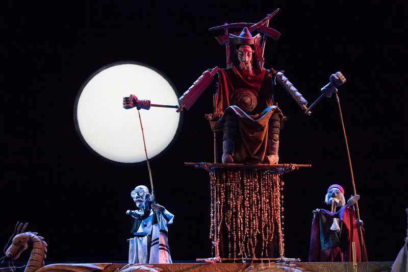 Спектакль «Турандот» в Театре кукол имени Образцова фото 5
