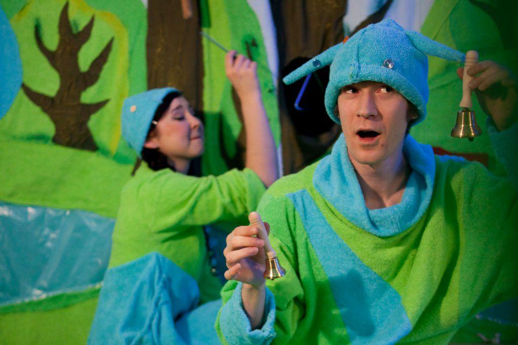 Спектакль «Театр на ладошке. Весна» в Московском театре кукол на Спартаковской фото 2