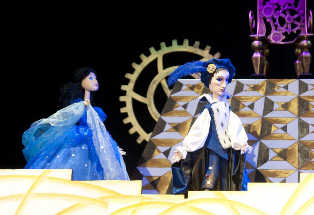 Спектакль «Золушка» в Московском театре кукол на Спартаковской фото 2
