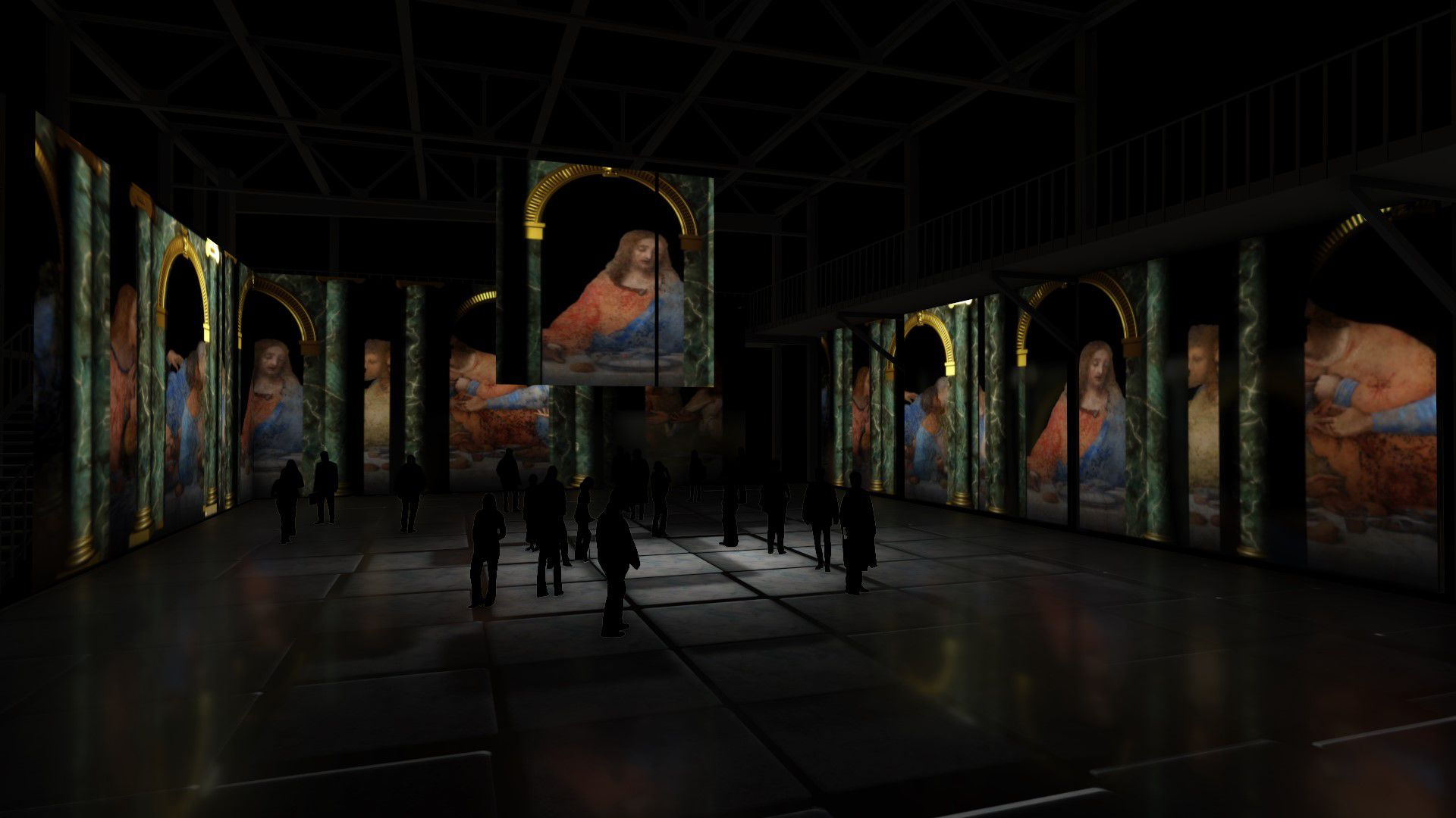 Мультимедийная выставка «Леонардо да Винчи. Тайна гения» фото 3