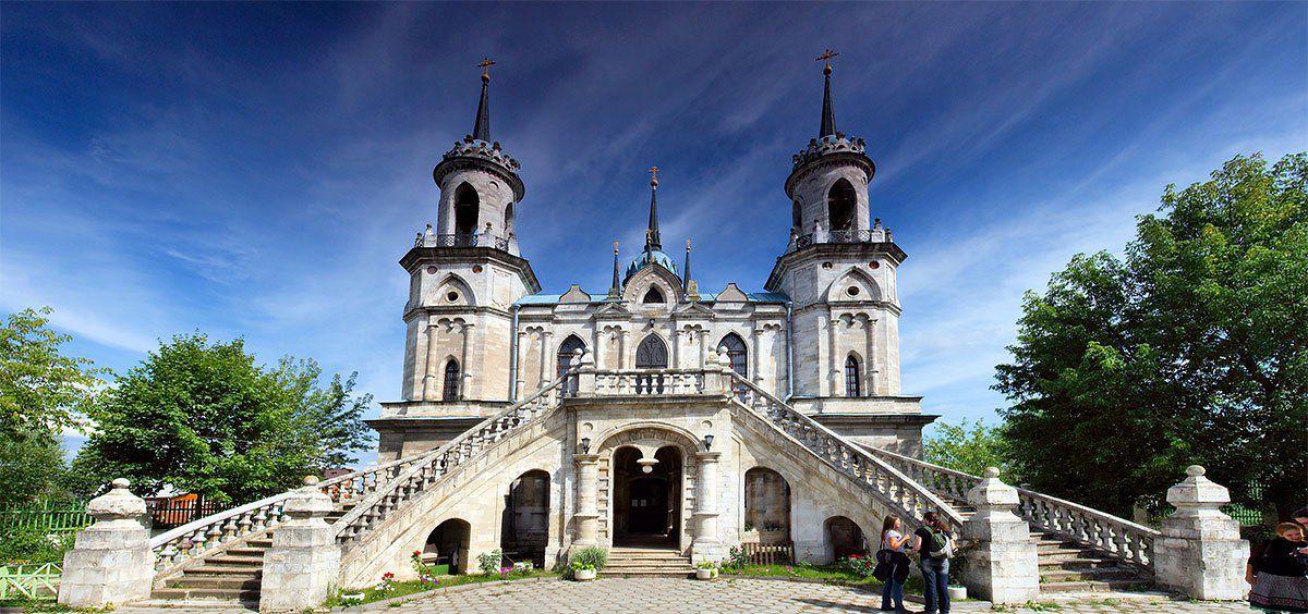Автобусная экскурсия «Баженов. Усадьба Быково: дворец, готическая церковь и английский парк» фото 1