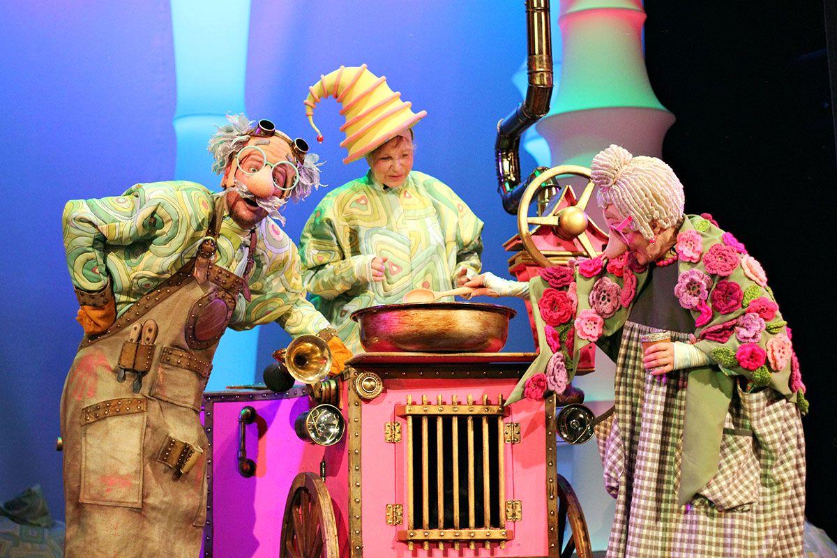 Спектакль «Колобок» в Московском театре кукол на Спартаковской фото 1
