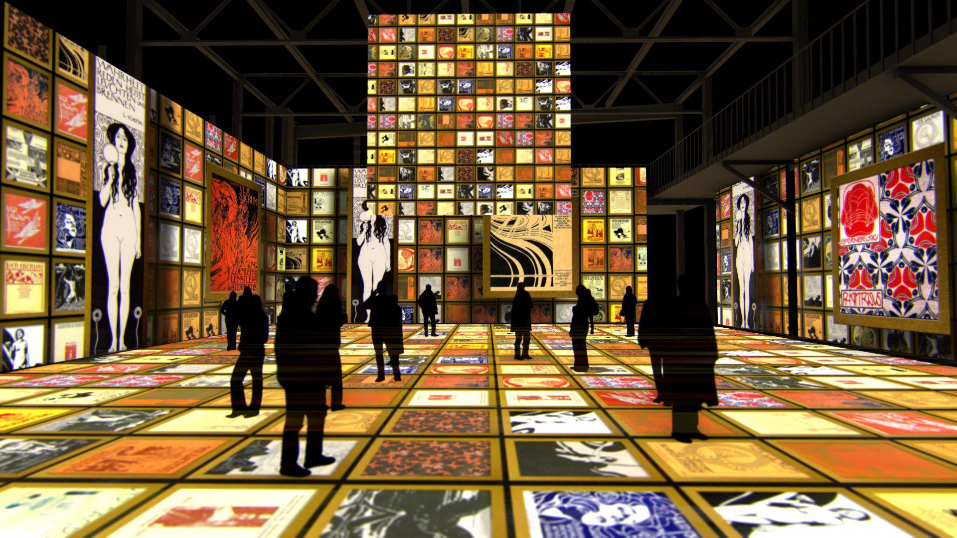 Мультимедийная выставка «Густав Климт. Золото модерна» фото 8