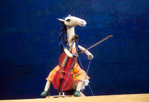 Спектакль «Гулял по улице щенок» в Театре кукол им. С. В. Образцова фото 2