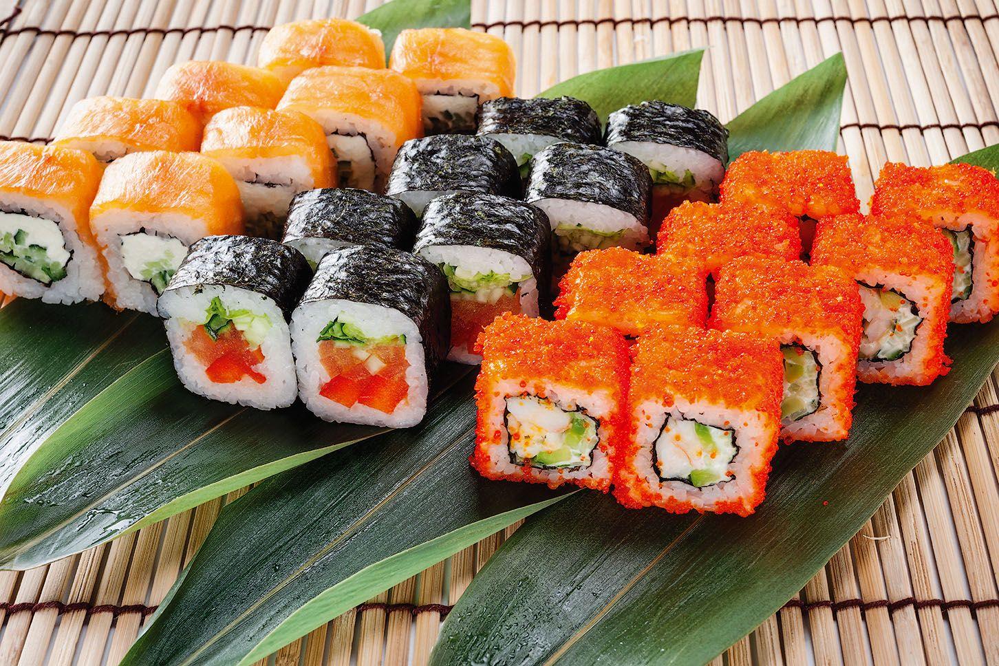 вкусных виды суши и роллов фото сказать