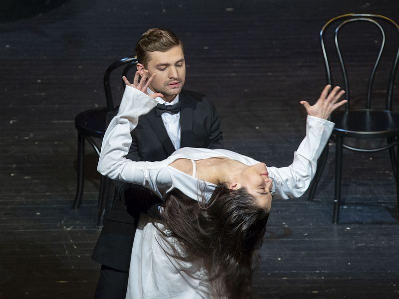 Спектакль «Фрида. Жизнь в цвете» в Театре имени Евг. Вахтангова фото 7