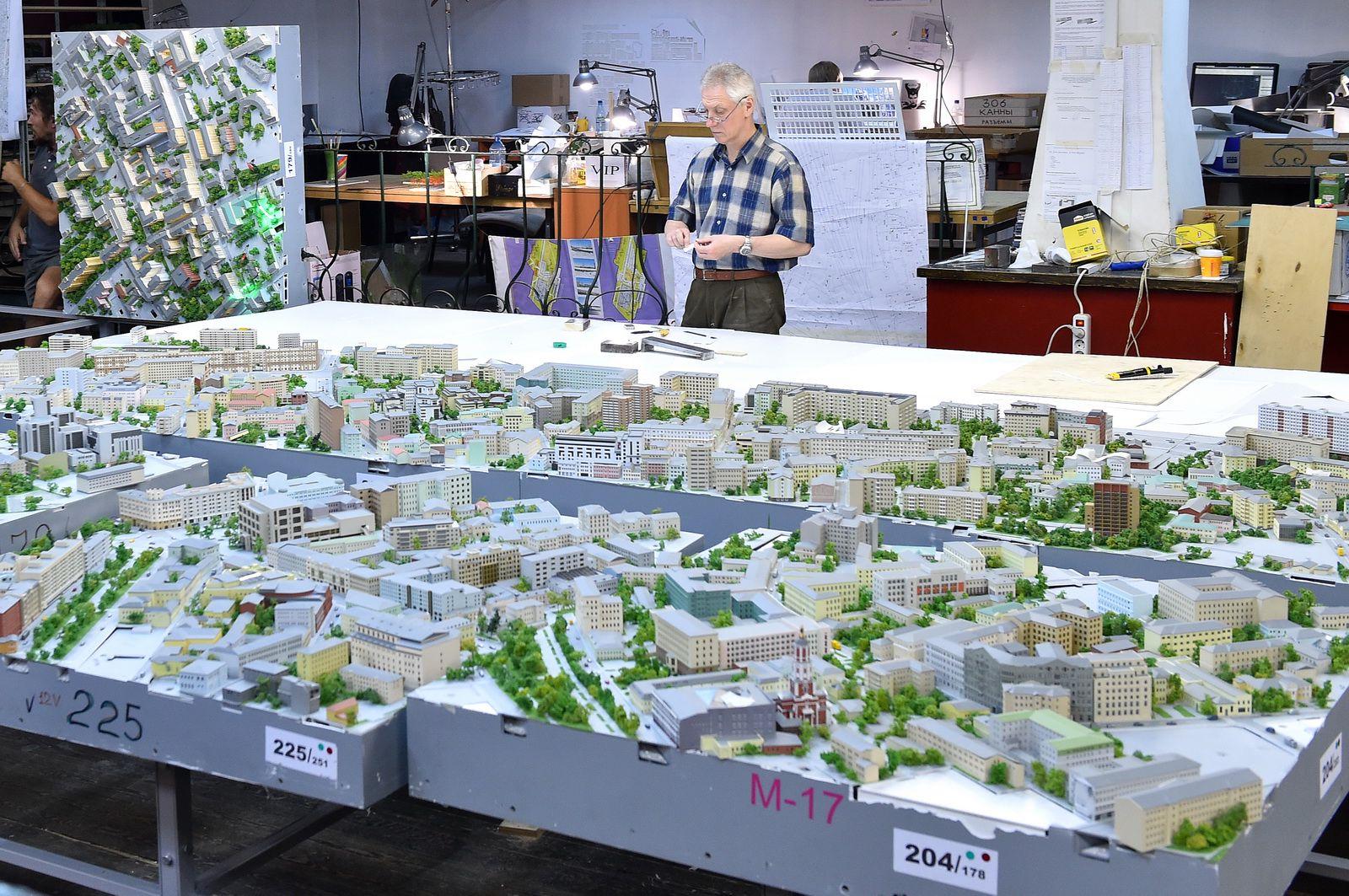 Экспозиция «Москва в миниатюре» фото 3