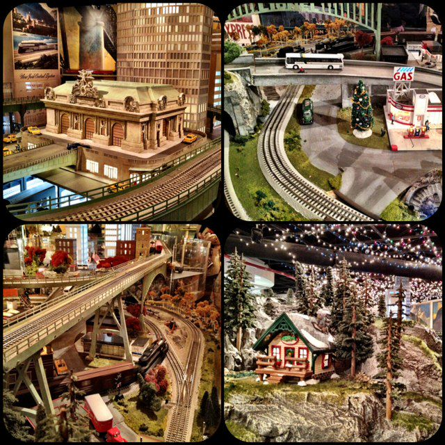 13th annual holiday train show at grand central terminal for Ny transit museum store