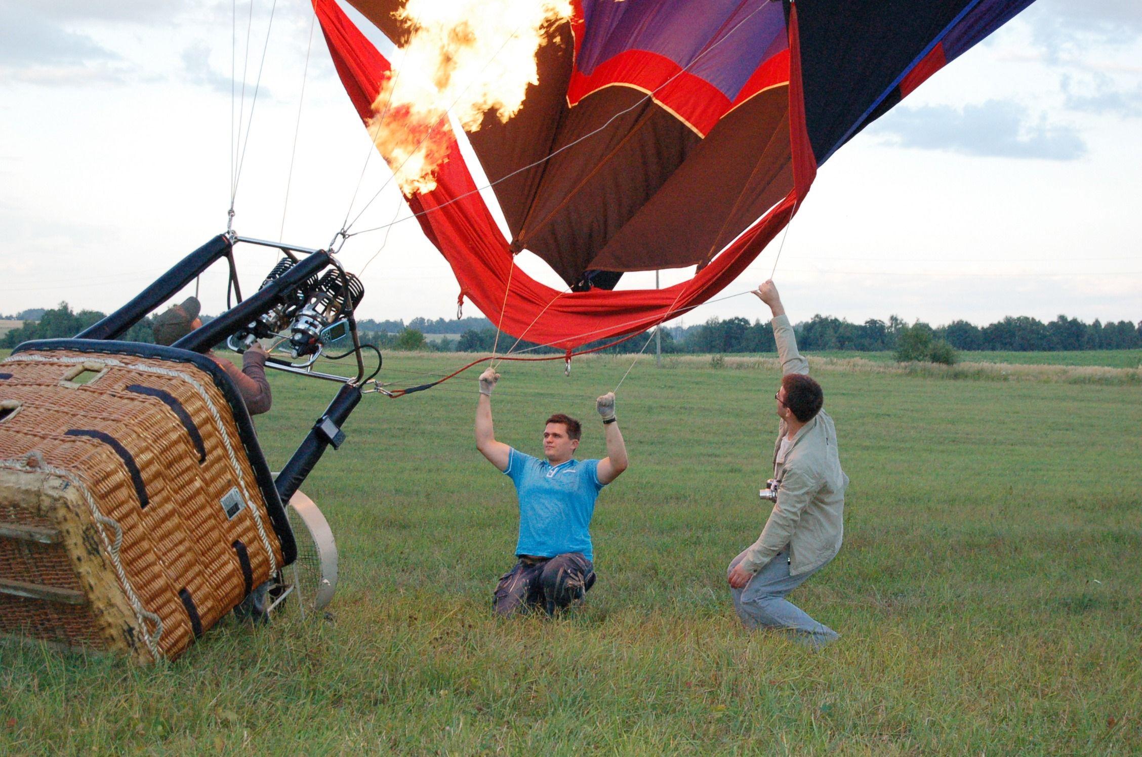 Мастер-класс «Я пилот воздушного шара» фото 2