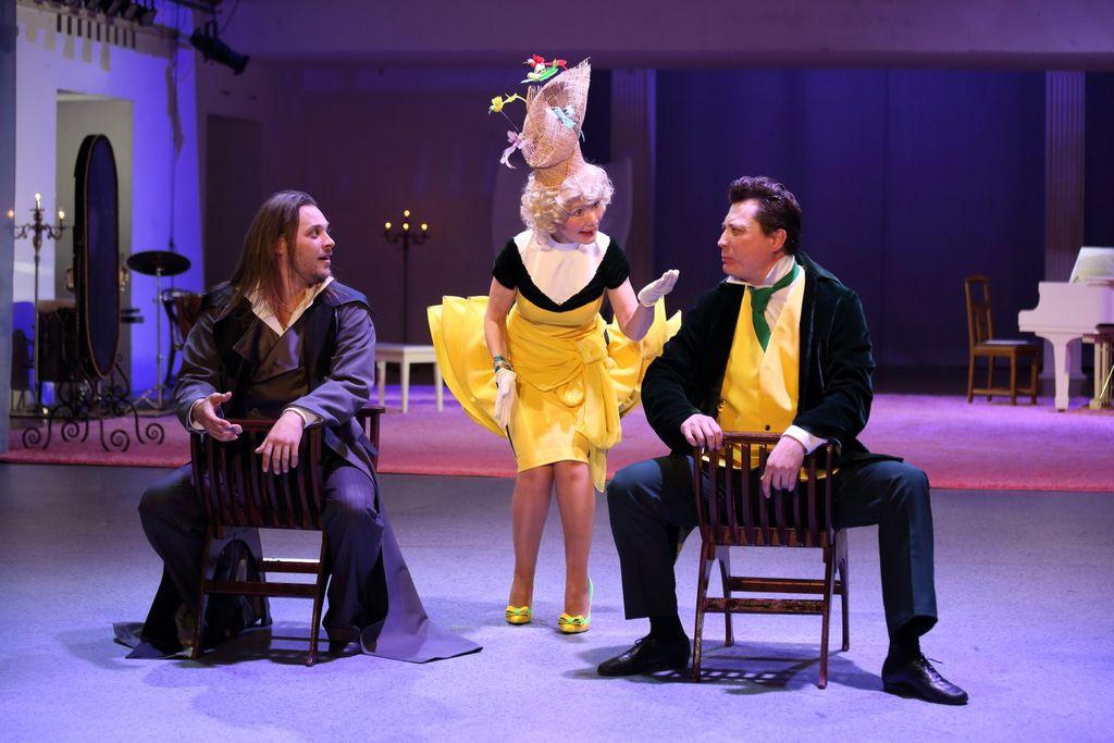 Спектакль «Горе от ума. Московские сны» в Театре «Школа драматического искусства» фото 2