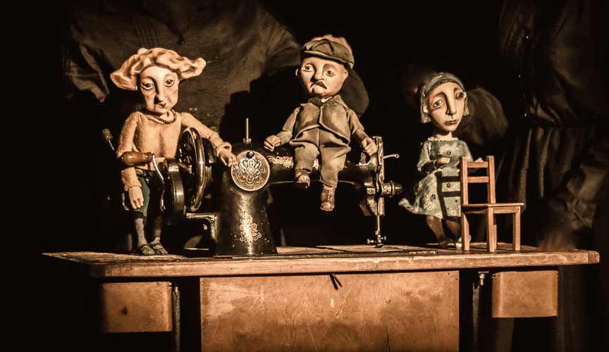 Спектакль «Жена мужа в Париж провожала» в Театре кукол С. В. Образцова фото 3