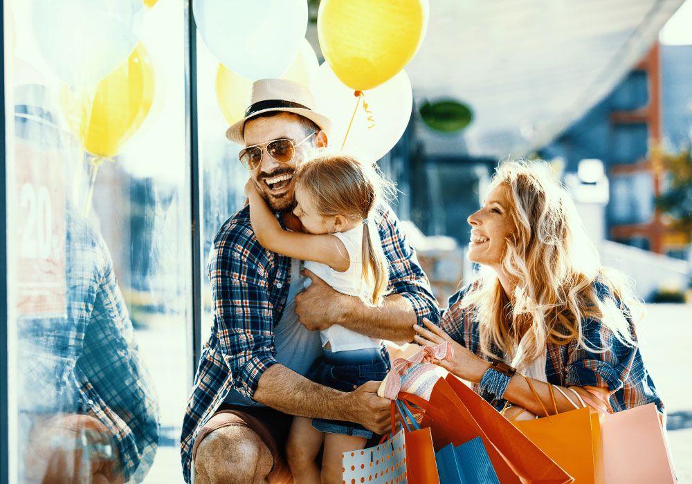 того, фото шоппинг с фотографией семьи обещал, рассказываю куда