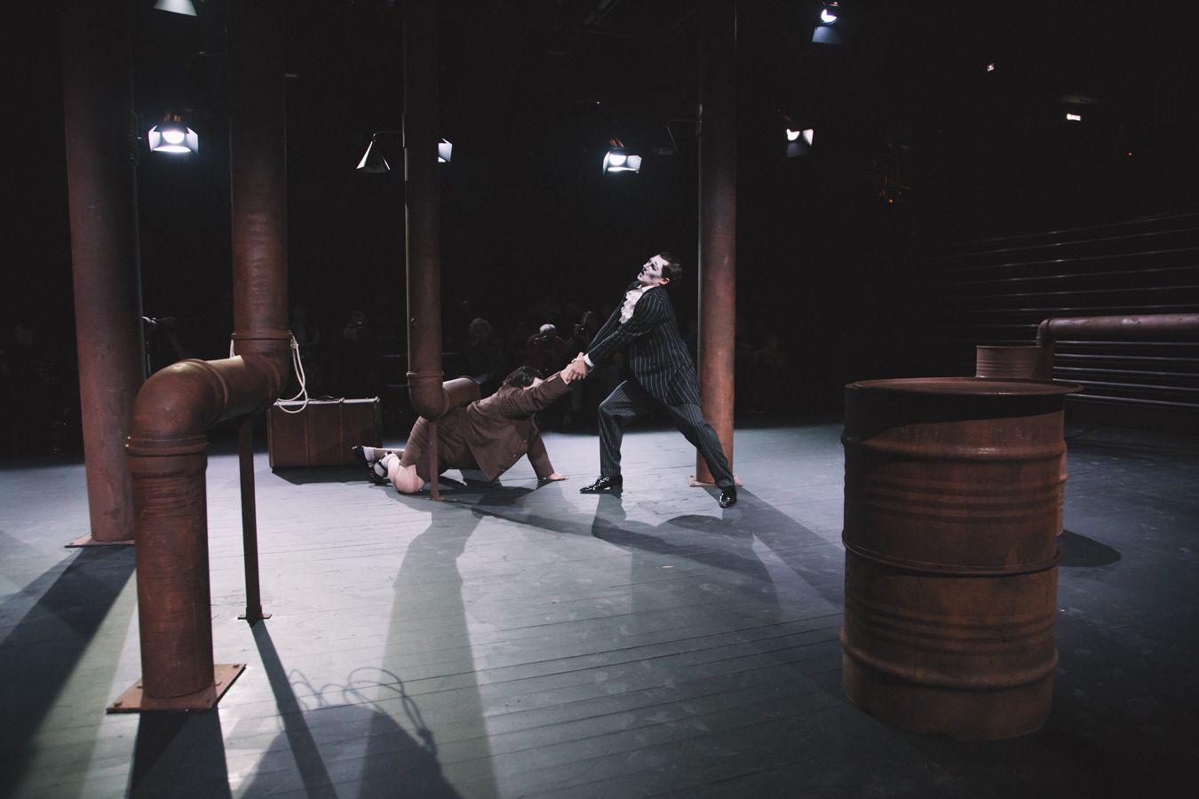Спектакль «Фабрика слов» в Театре им. Вл. Маяковского фото 6