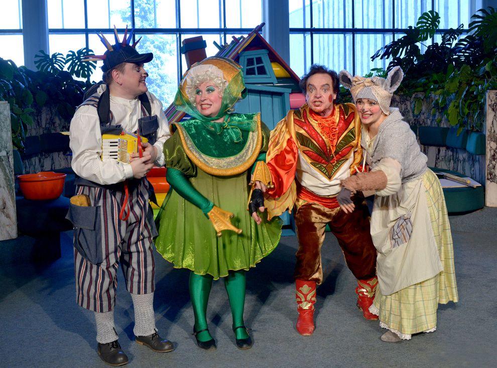 Опера «Теремок» в Детском музыкальном театре имени Н. И. Сац фото 2