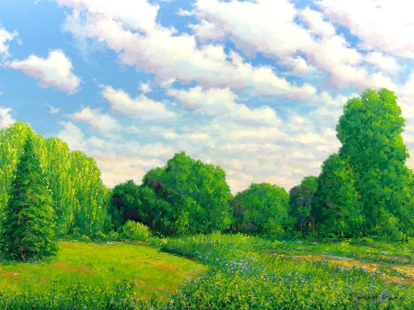Фото пейзажа для детей
