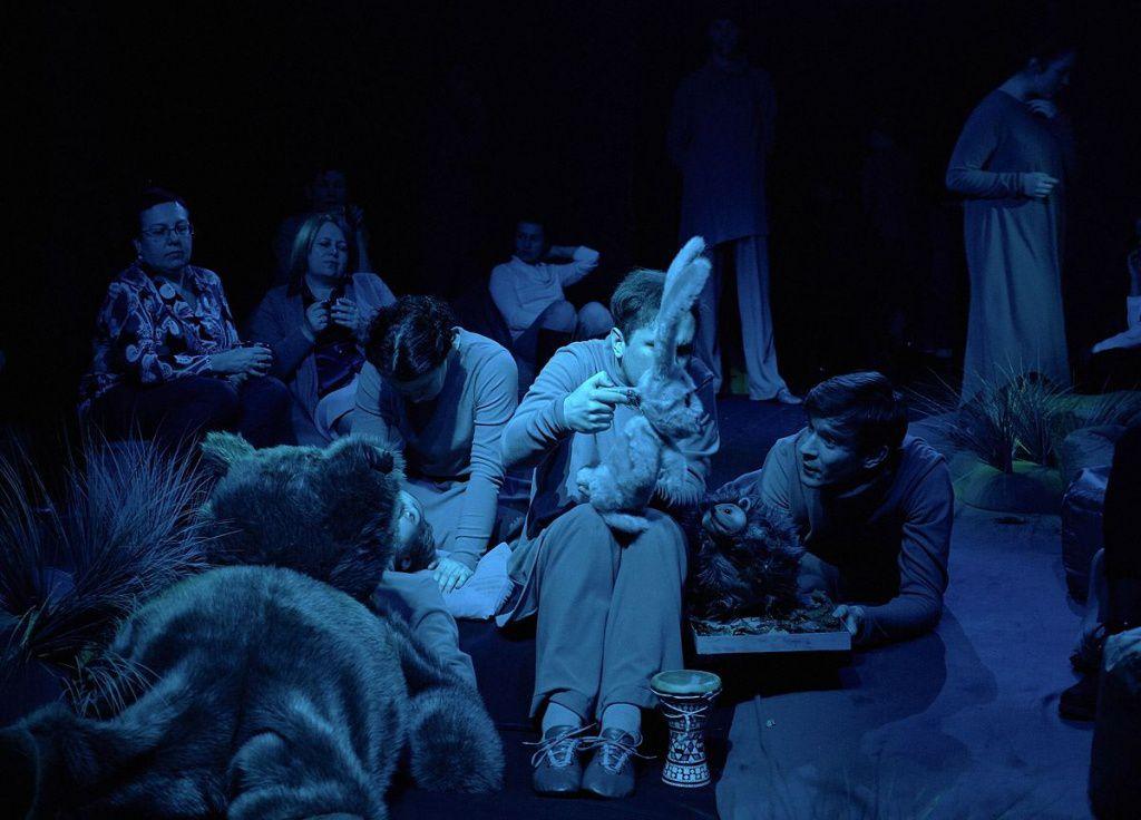 Спектакль «Ежик в тумане» в Московском театре кукол на Спартаковской фото 4