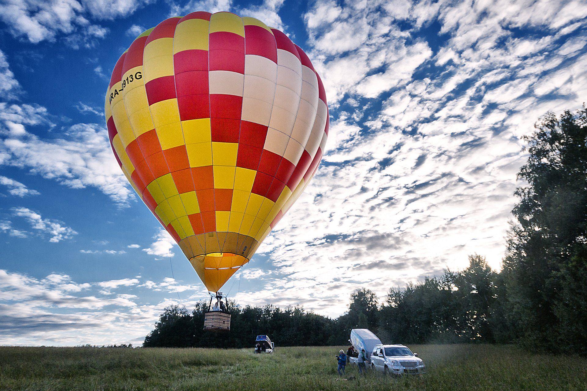 Полёт на воздушном шаре Orange фото 1