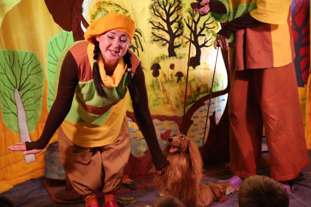Спектакль «Театр на ладошке. Осень» в Московском театре кукол на Спартаковской фото 2