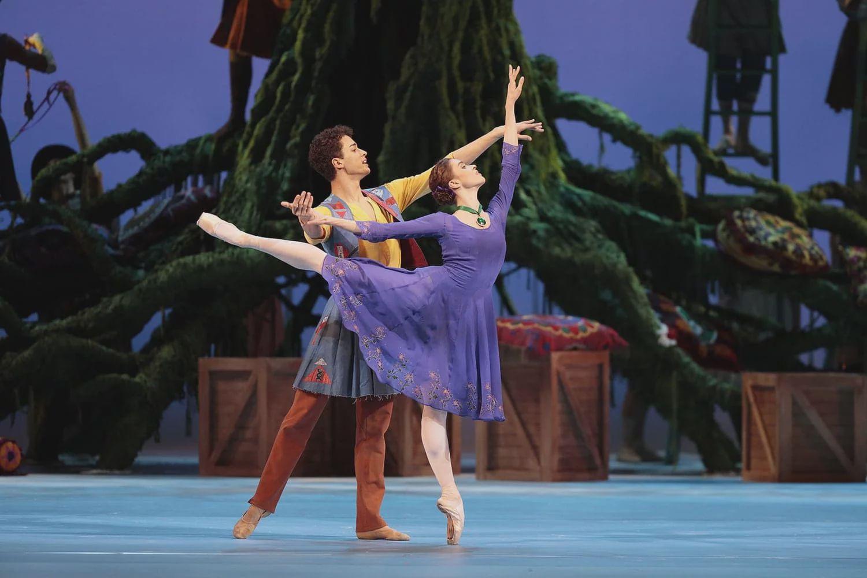 Балет «Зимняя сказка» в Большом театре фото 1
