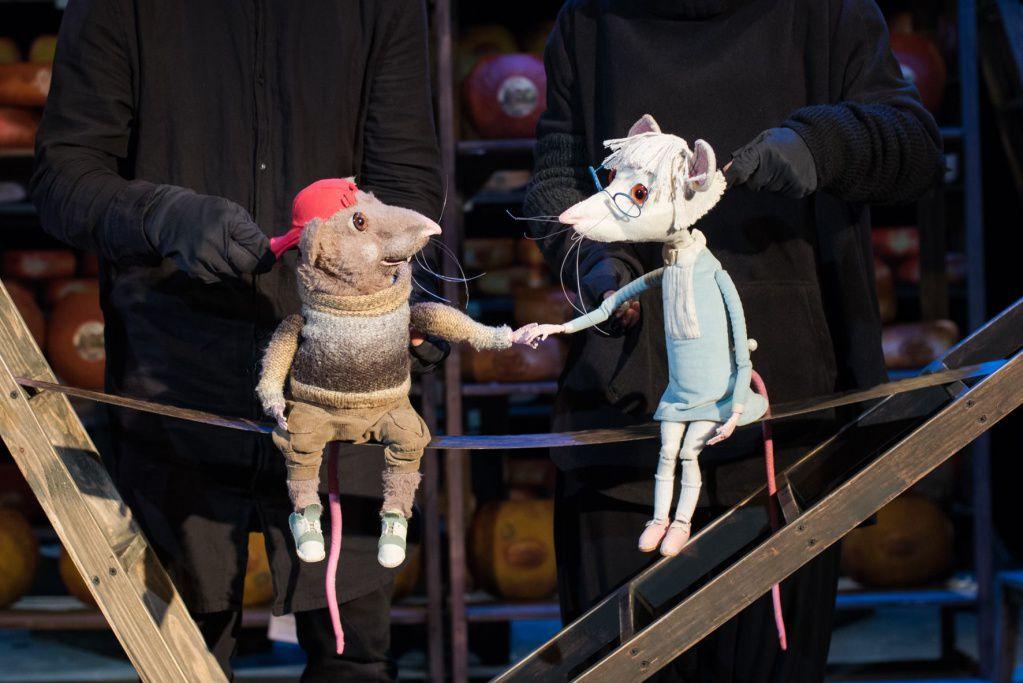 Спектакль «Все мыши любят сыр» в Московском театре кукол на Спартаковской фото 1