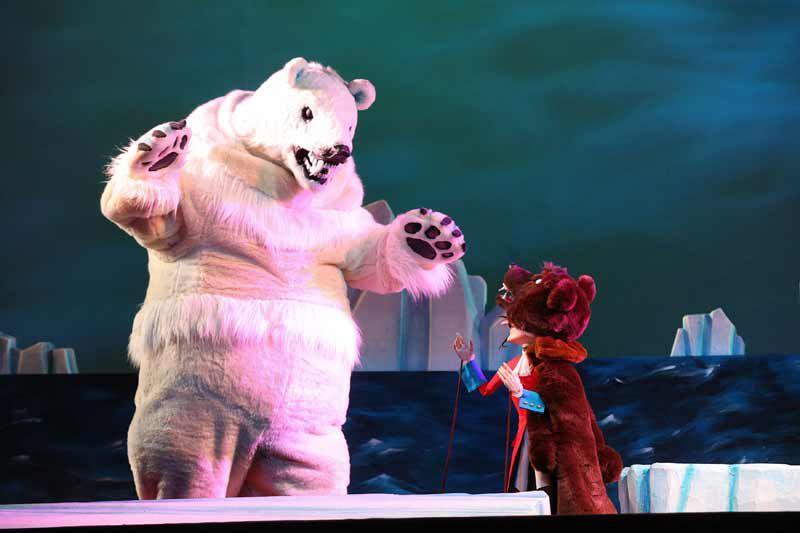 Спектакль «Барон Мюнхгаузен» в Театре кукол С. В. Образцова фото 4