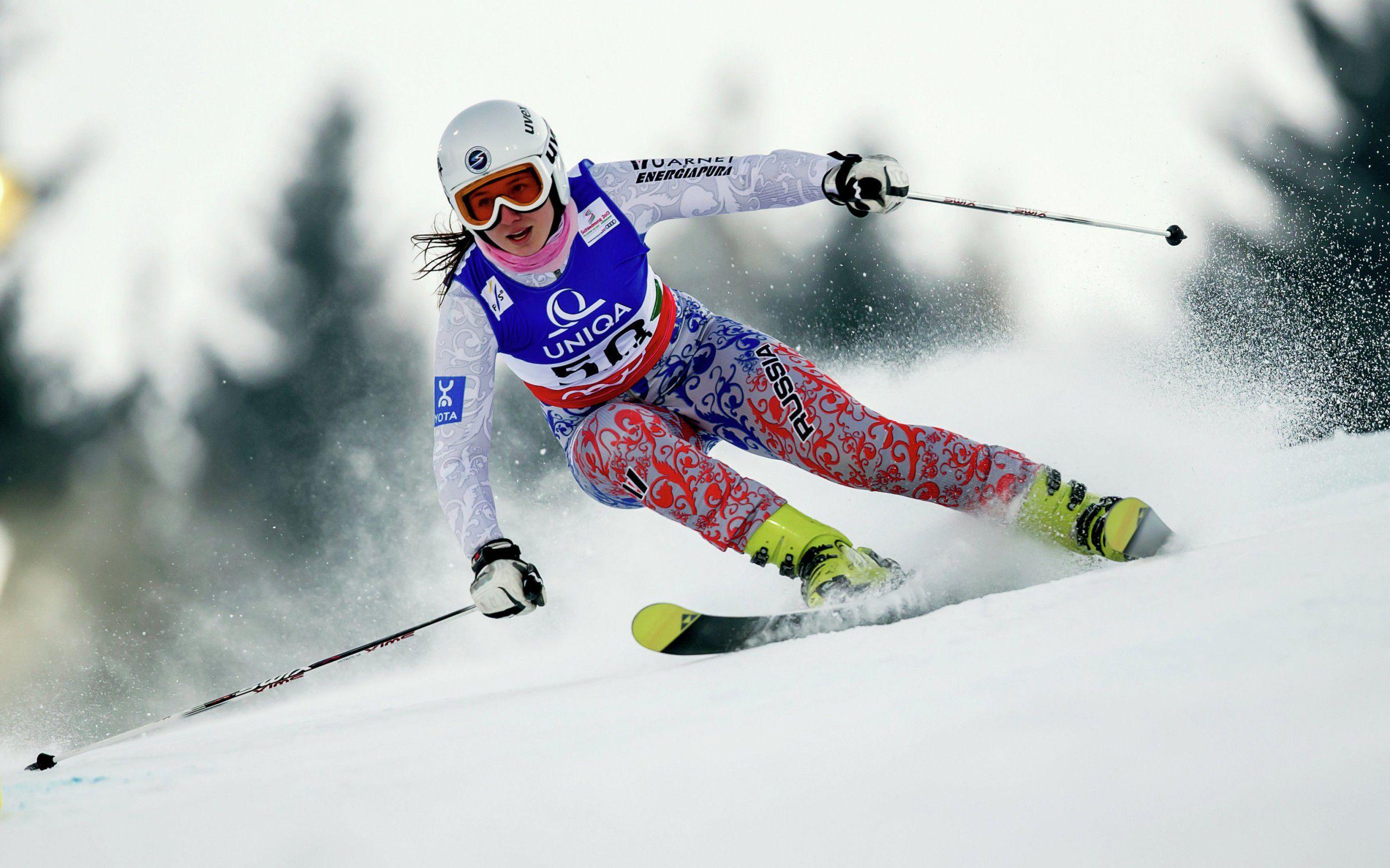 игры на лыжах фото