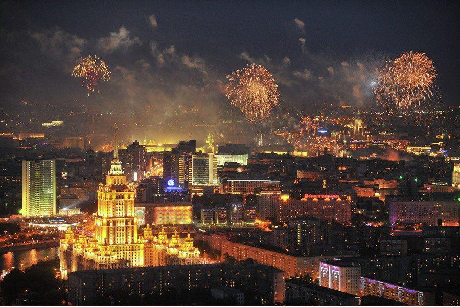 Просмотр салюта на 9 Мая с 90-го этажа «Москва-Сити» фото 6