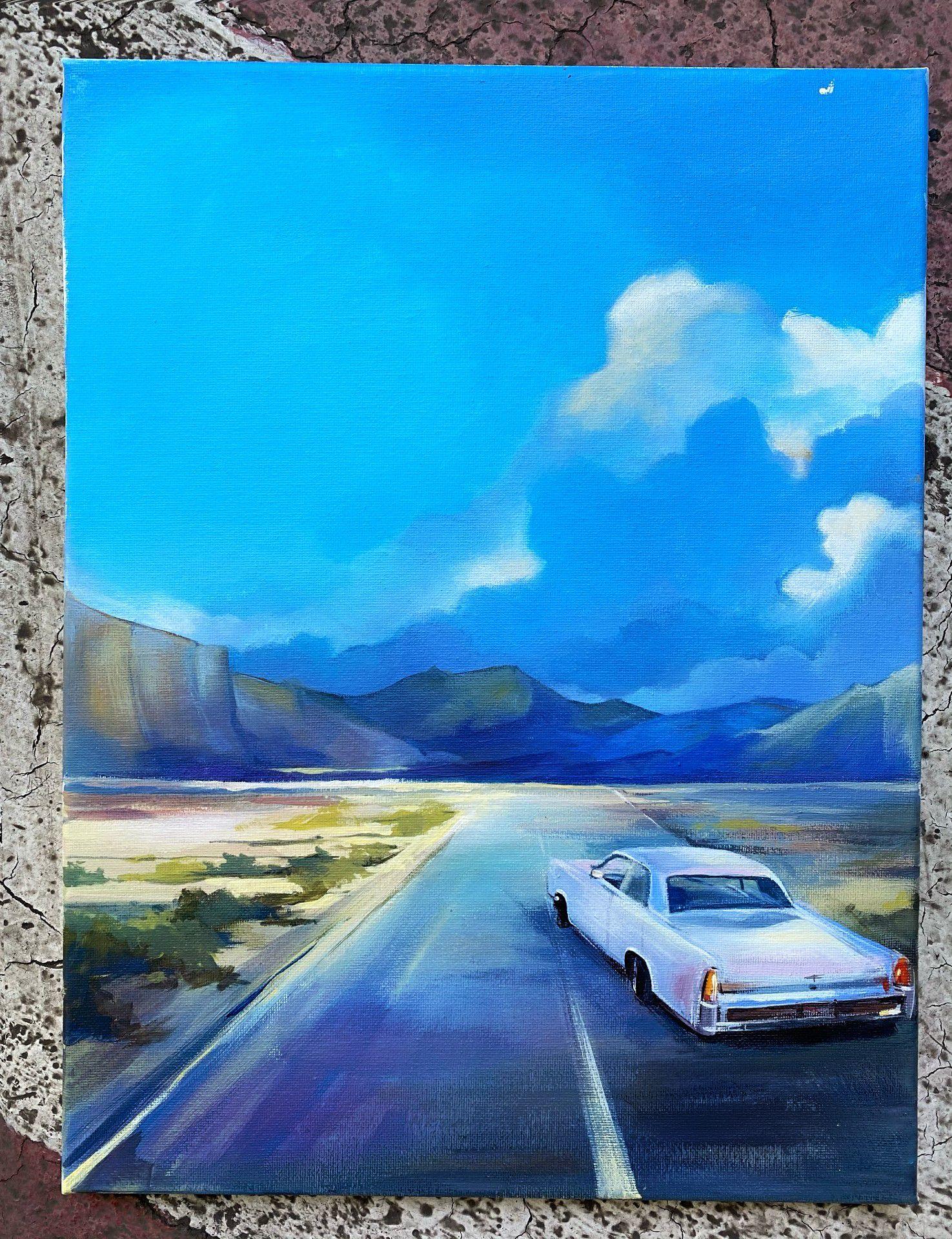 Мастер-класс по живописи акрилом «Гранд каньон» фото 2