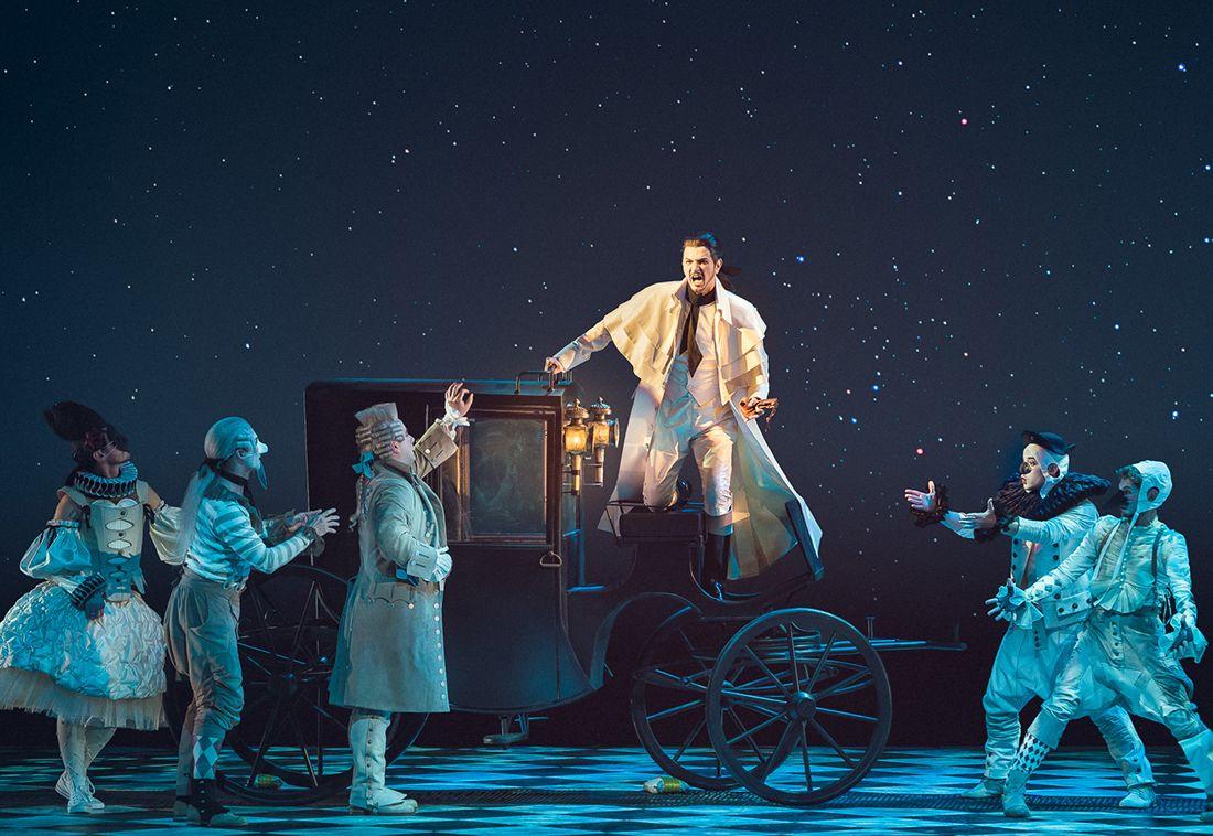 Опера «Севильский цирюльник» в Большом театре фото 1