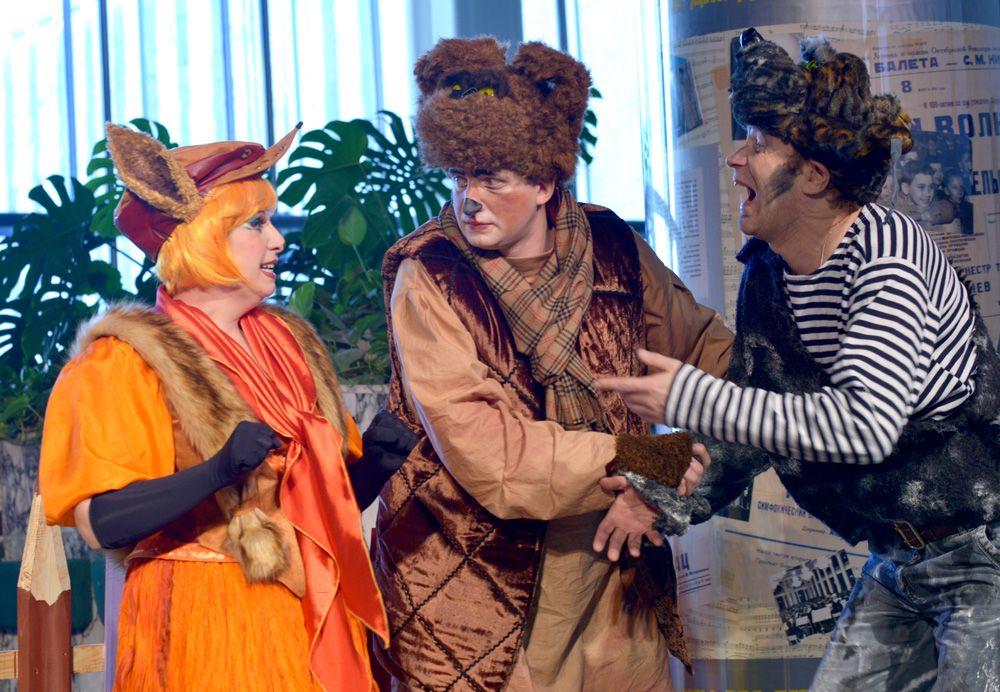 Опера «Теремок» в Детском музыкальном театре имени Н. И. Сац фото 5